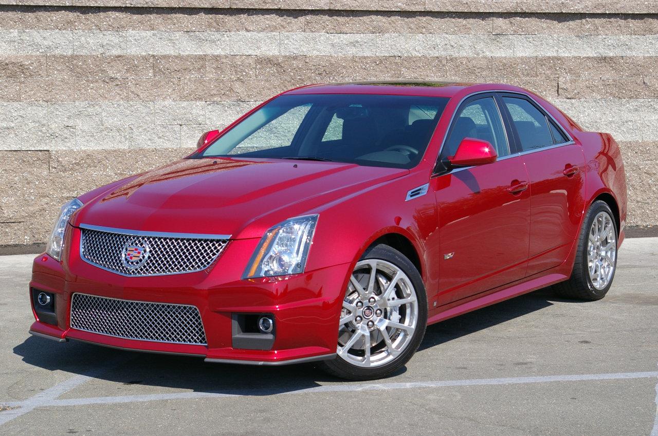 2010 Cadillac Cts V Image 15