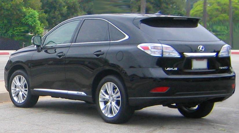 2010 Lexus Rx 450h 18