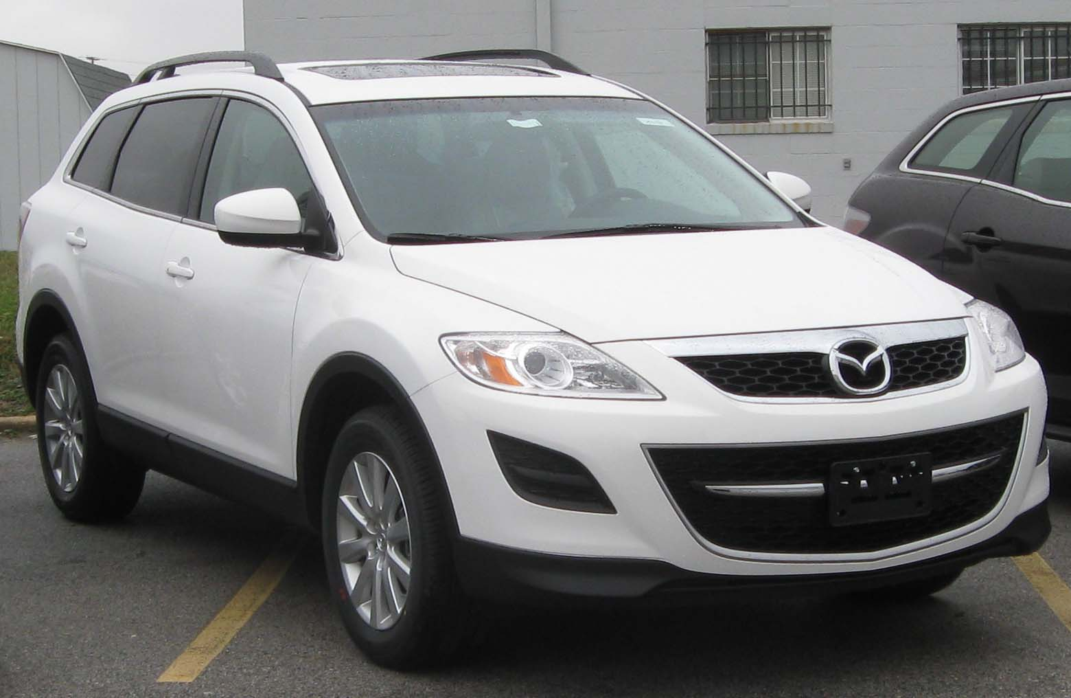 2010 mazda cx 9 information and photos zombiedrive. Black Bedroom Furniture Sets. Home Design Ideas