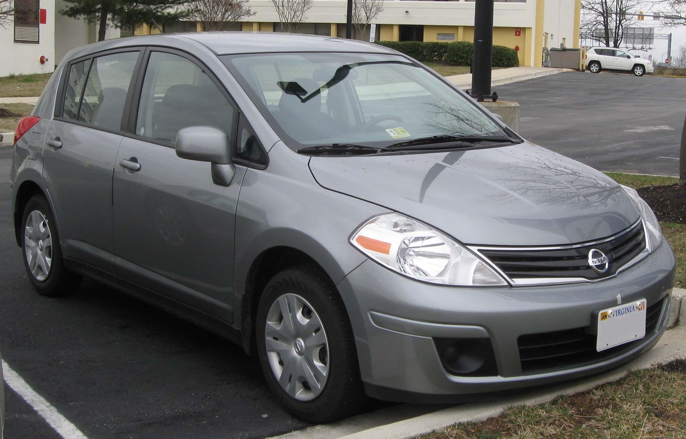 2010 Nissan Versa 12 Nissan
