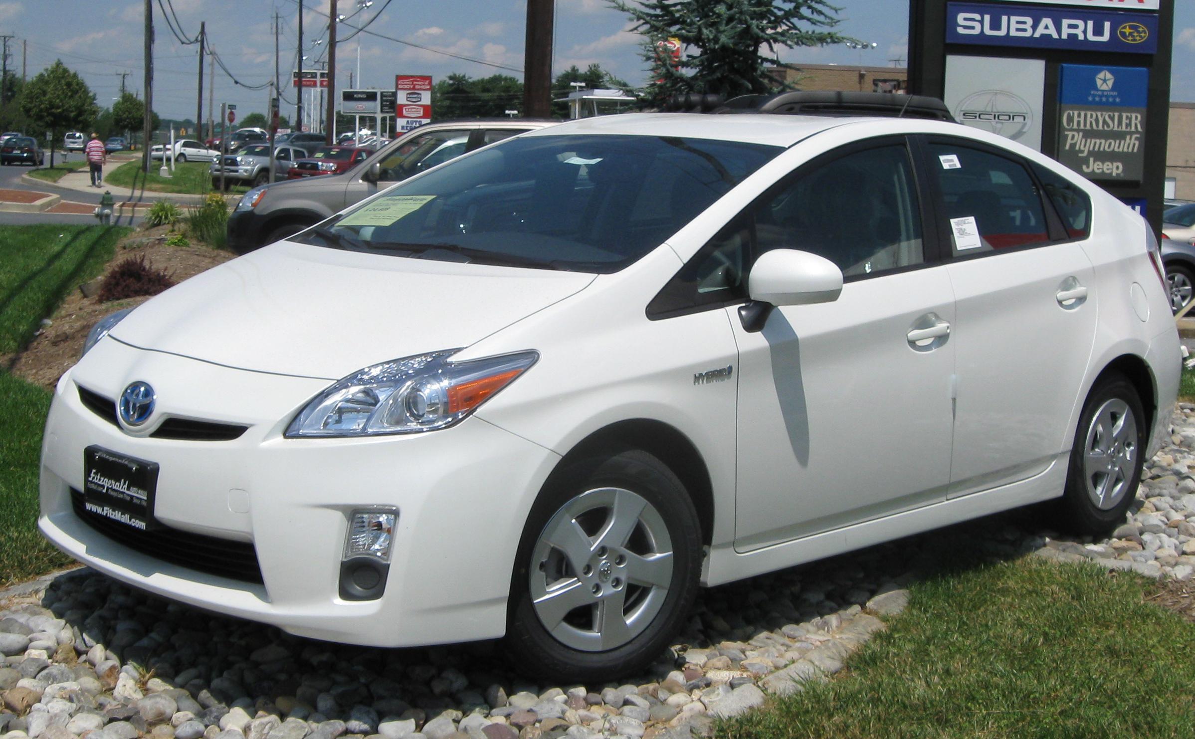 2010 Toyota Prius 8