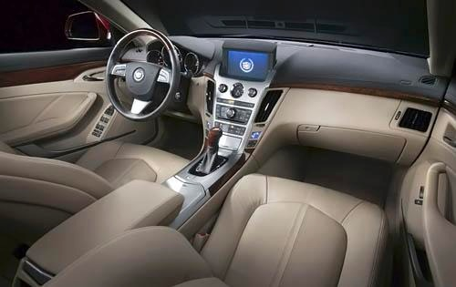 2010 Cadillac CTS Center  interior #7
