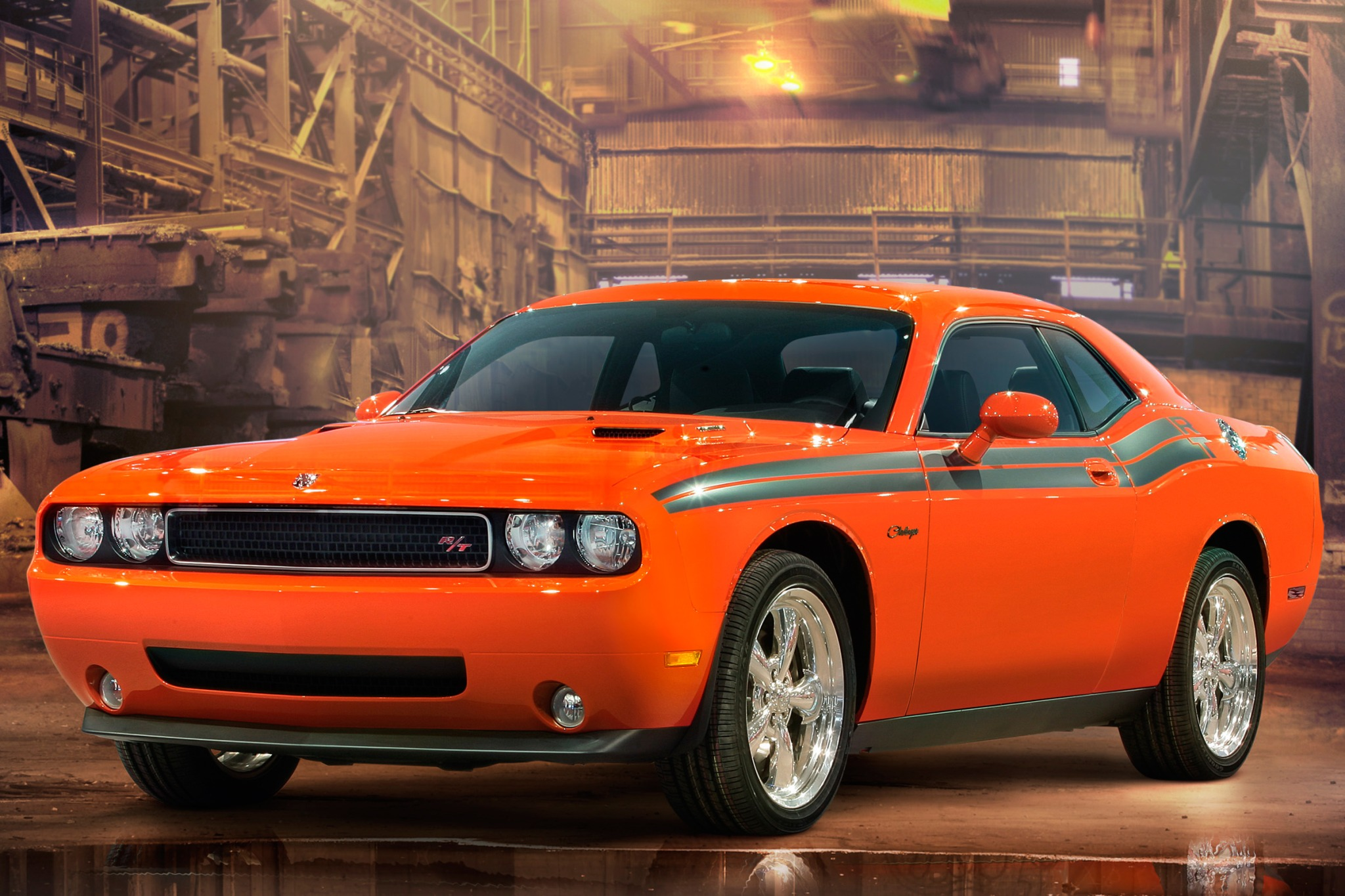 2010 Dodge Challenger SRT interior #2