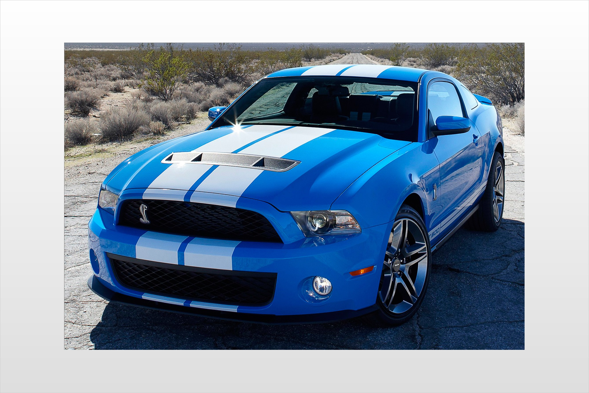 2010 Ford Shelby GT500 Ba exterior #2