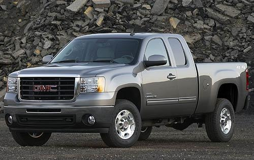 2010 GMC Sierra 2500HD SL interior #3