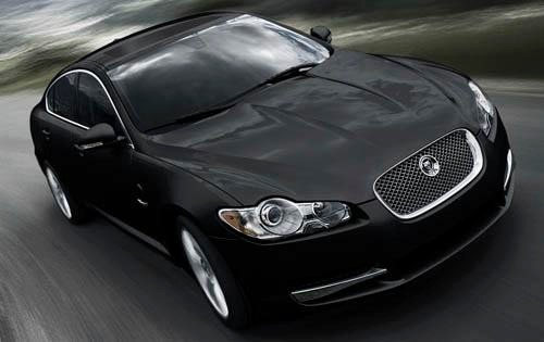 2010 Jaguar XF Sedan Inte interior #11