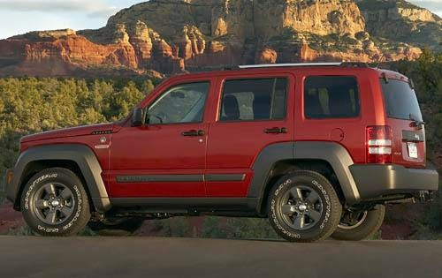 2010 Jeep Liberty Limited interior #8