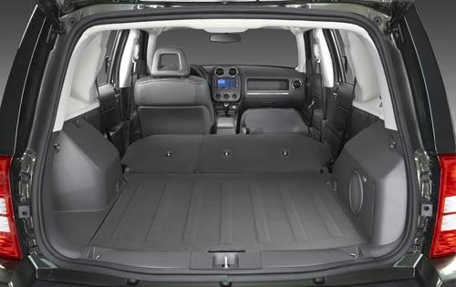 2010 Jeep Patriot Limited interior #5