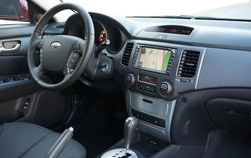 2010 Kia Optima Instrumen interior #8
