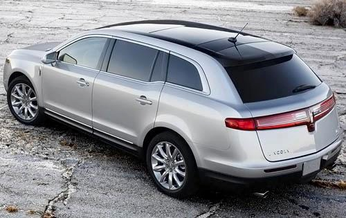 2010 Lincoln MKT Wagon Ex exterior #5