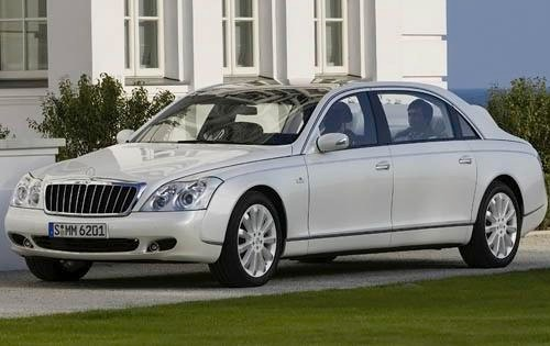 2010 Maybach Landaulet Co exterior #2