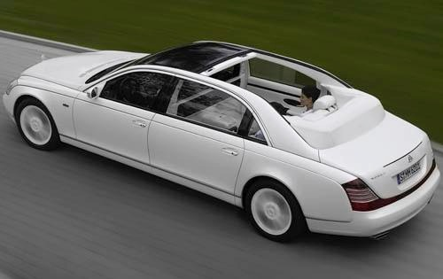 2010 Maybach Landaulet Co exterior #7