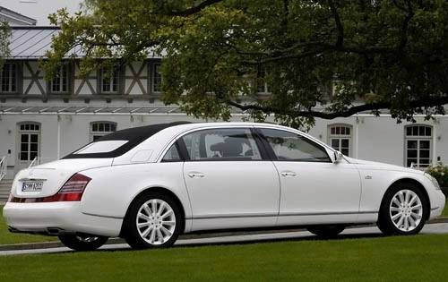 2010 Maybach Landaulet Co exterior #5