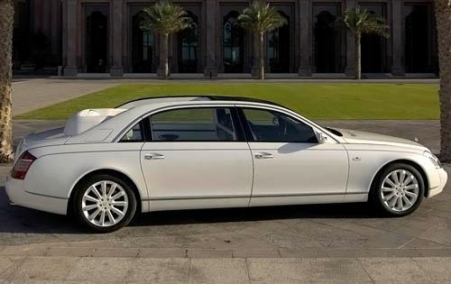 2010 Maybach Landaulet Co exterior #3