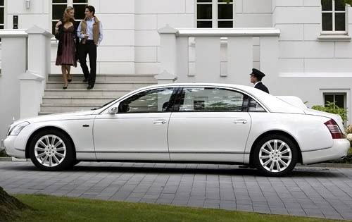 2010 Maybach Landaulet Co exterior #4