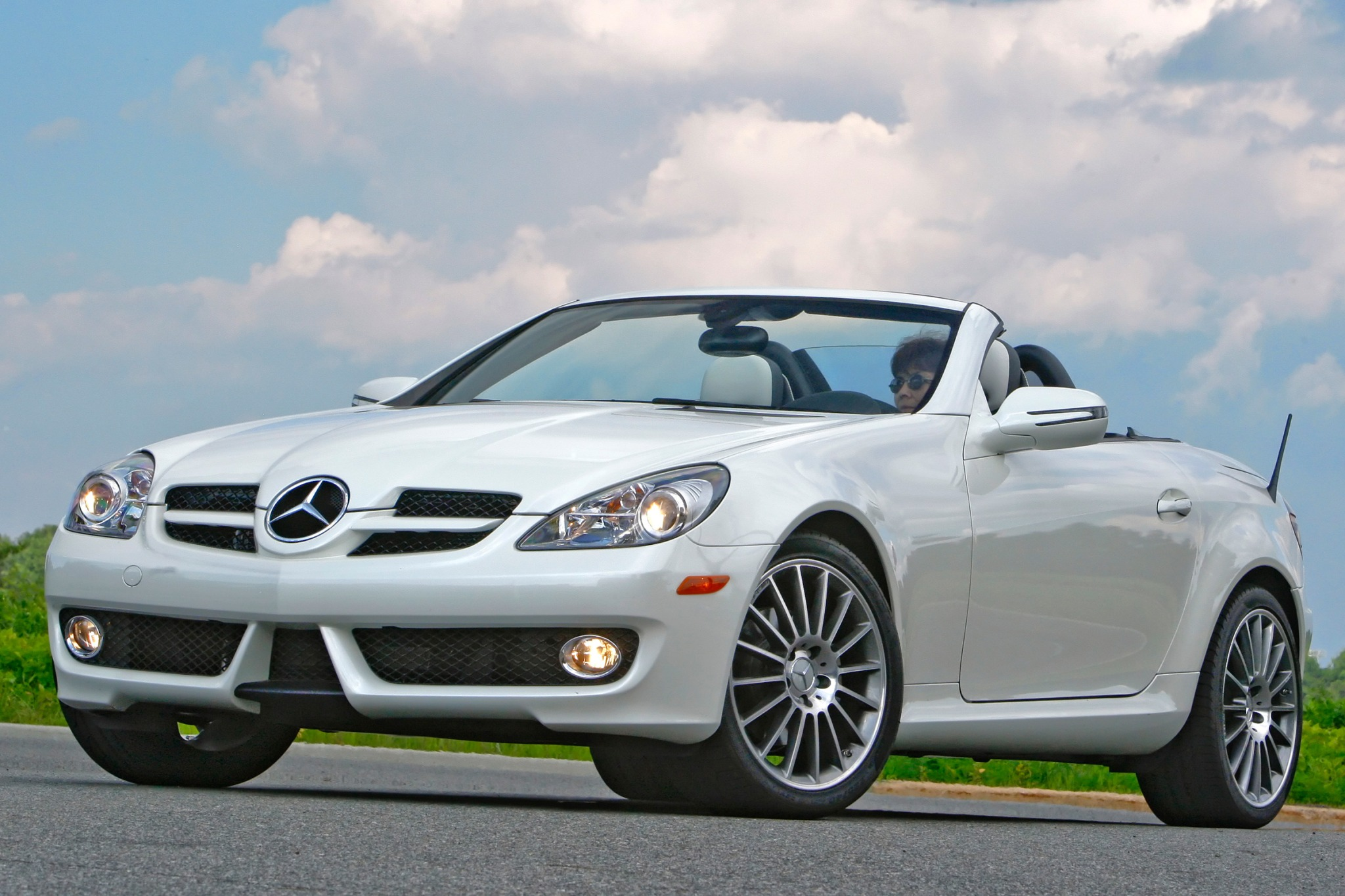 2010 Mercedes-Benz SLK-Cl interior #8