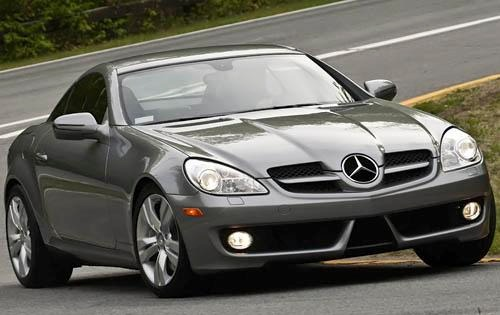 2010 Mercedes-Benz SLK-Cl interior #6