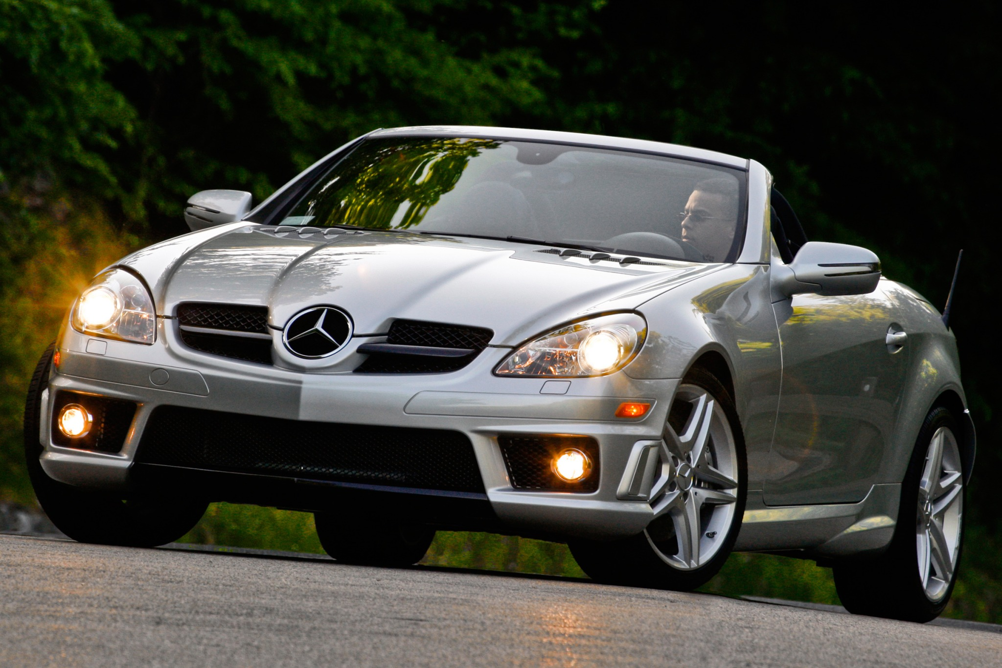 my first bloggy experience 2010 mercedes benz slk 55 amg r171 compact luxury roadster. Black Bedroom Furniture Sets. Home Design Ideas