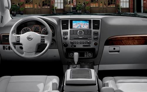 2010 Nissan Armada Center interior #9