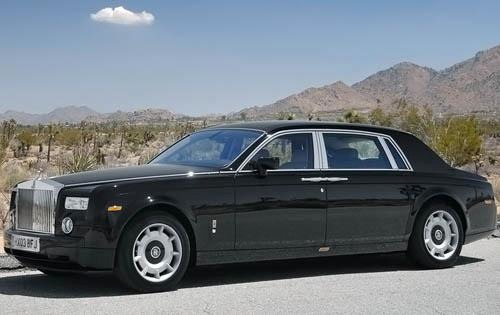 2010 Rolls-Royce Phantom  interior #3