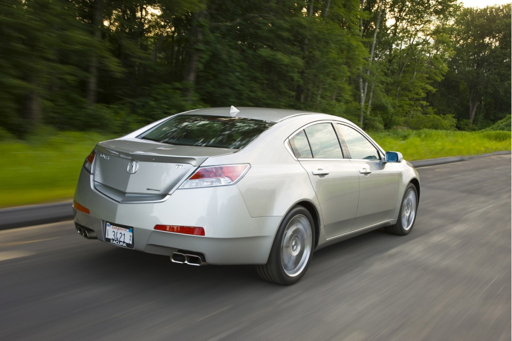 2011 Acura TL - Information and photos - ZombieDrive