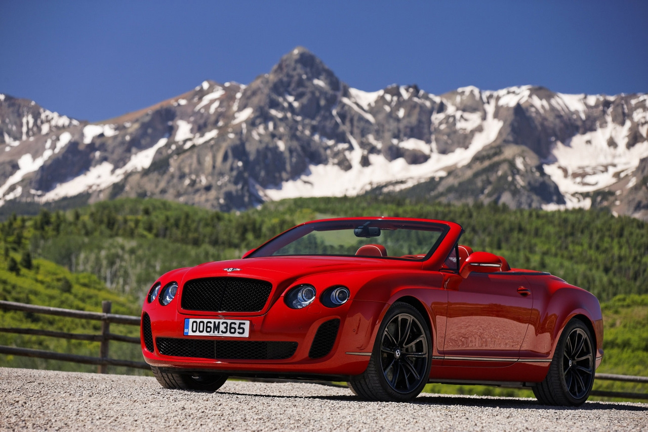 Bentley Continental Supersports Convertible #5