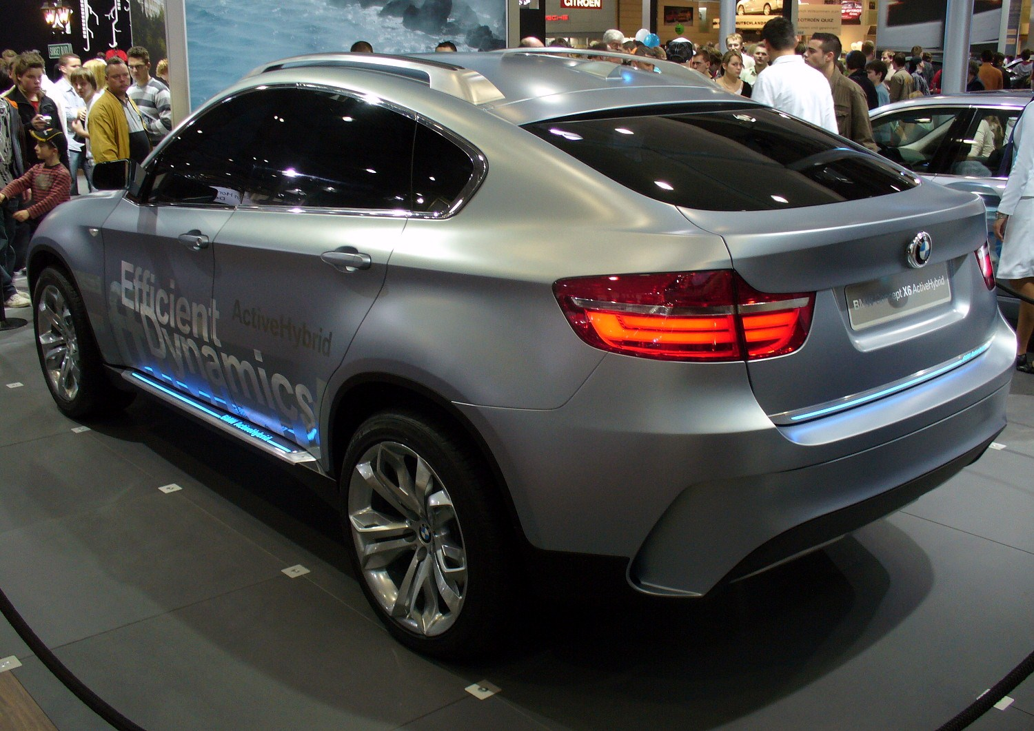 BMW ActiveHybrid X6 #16