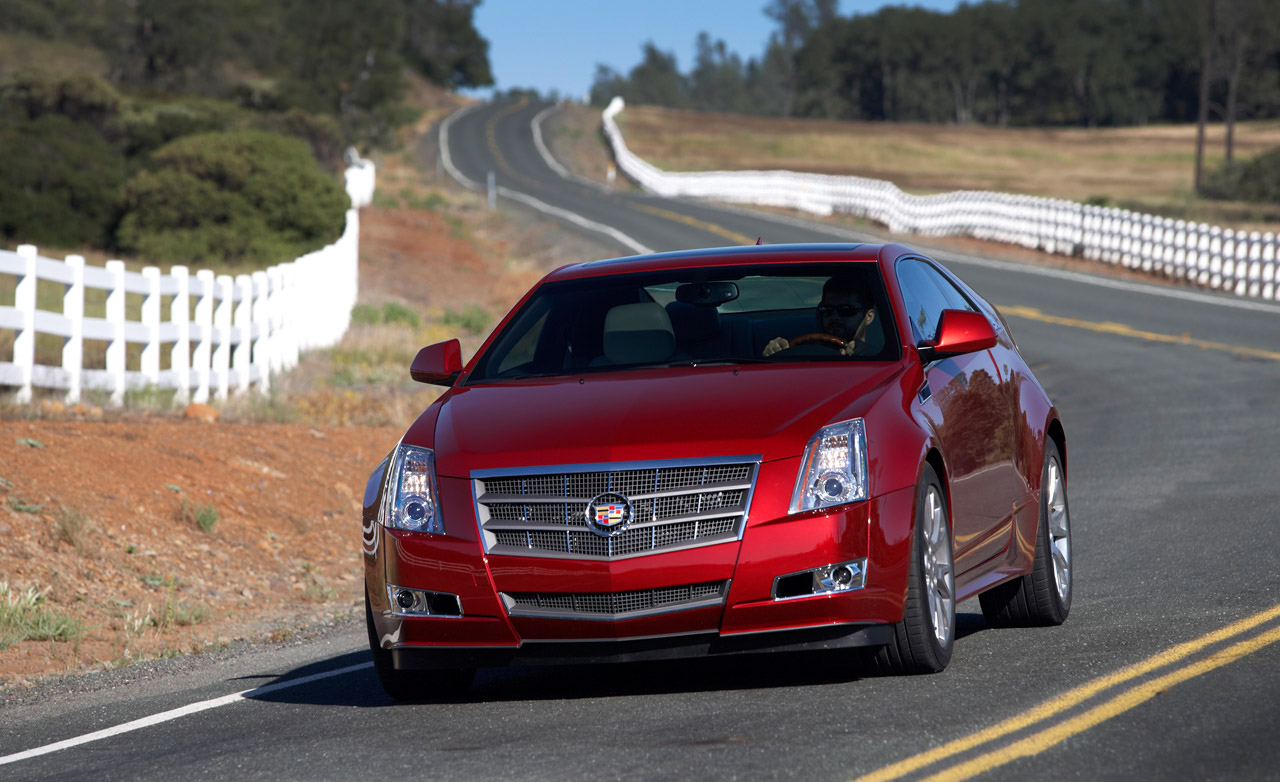 2011 cadillac cts coupe image