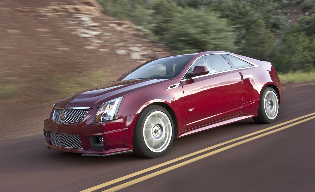 Cadillac CTS-V Coupe #12
