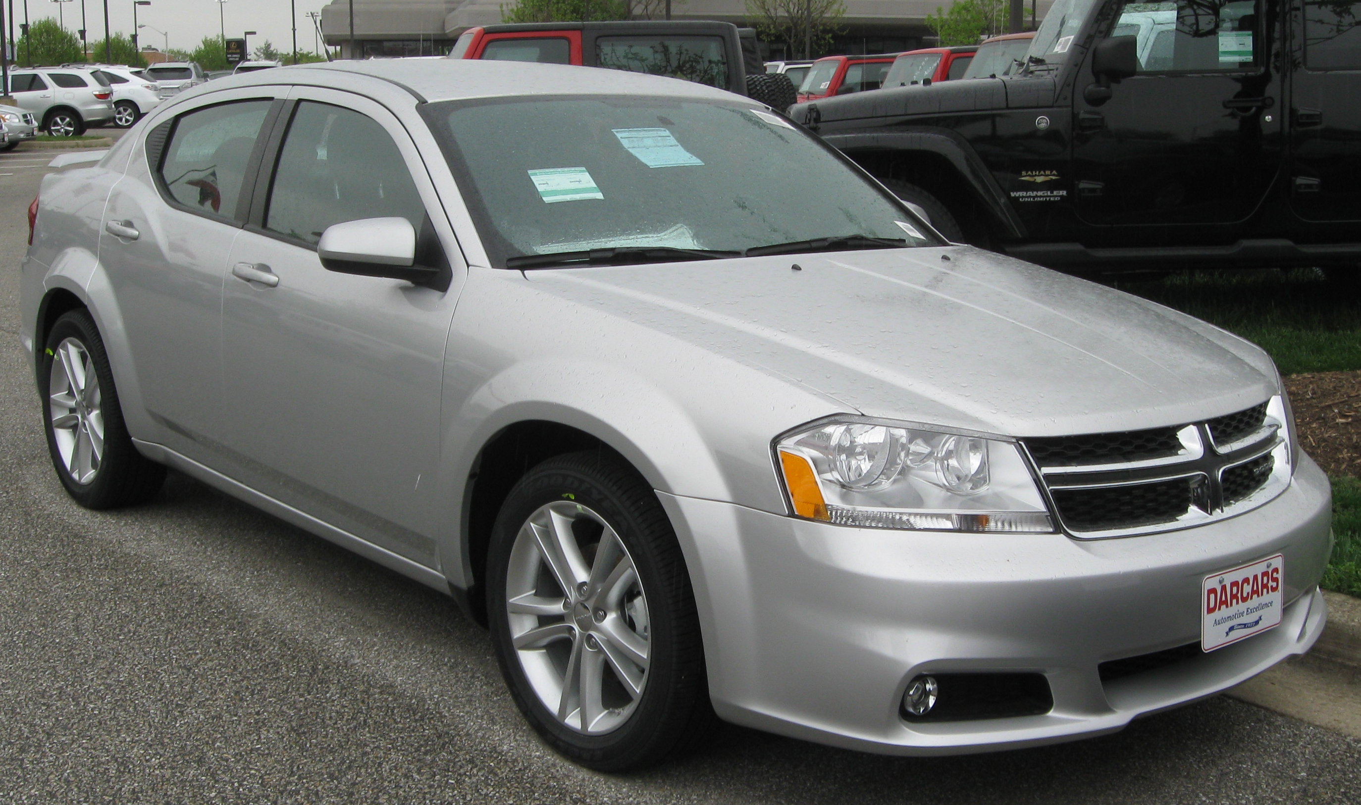 2011 Dodge Avenger  Information and photos  ZombieDrive