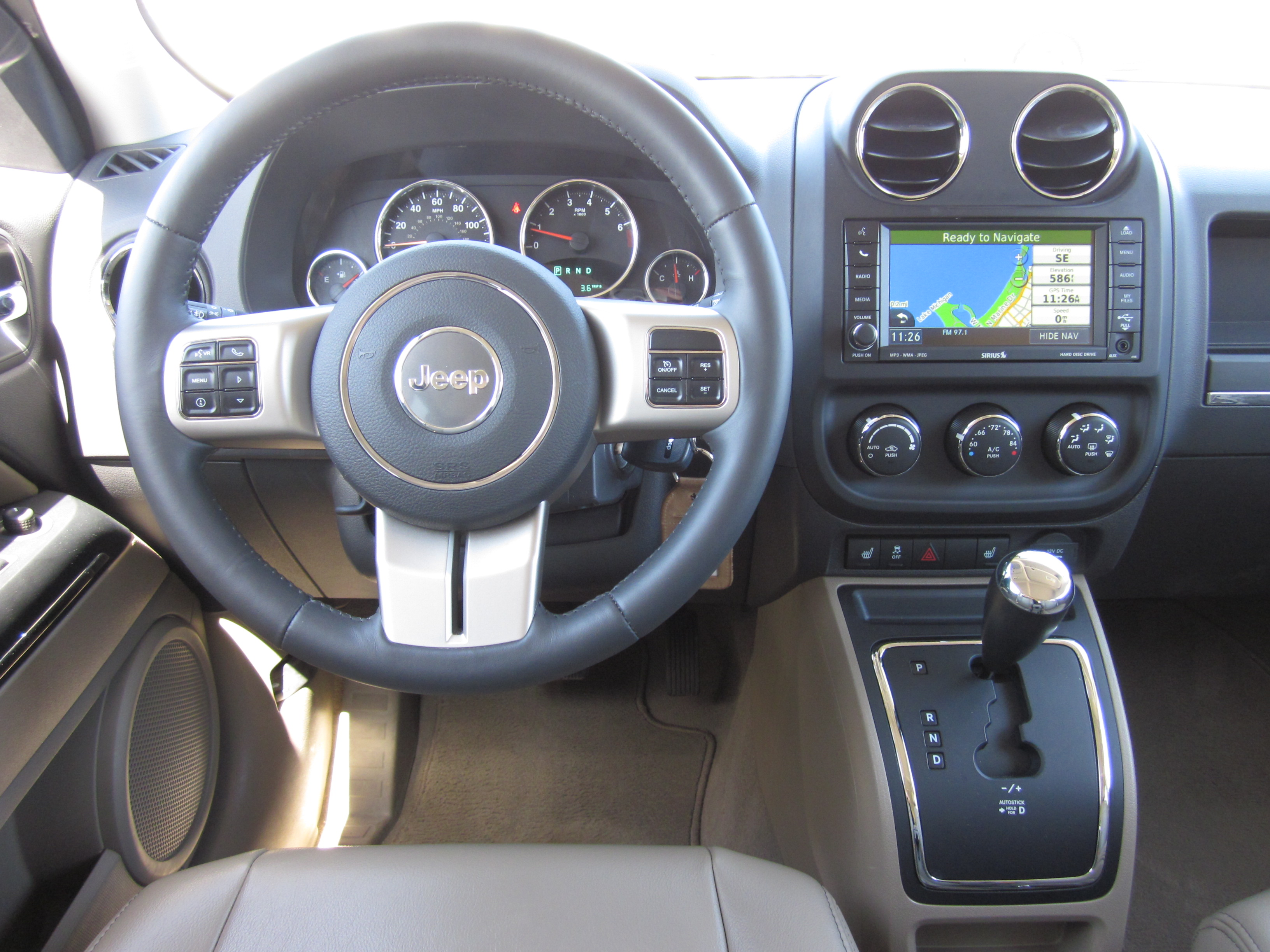 2011 jeep patriot - information and photos - zombiedrive