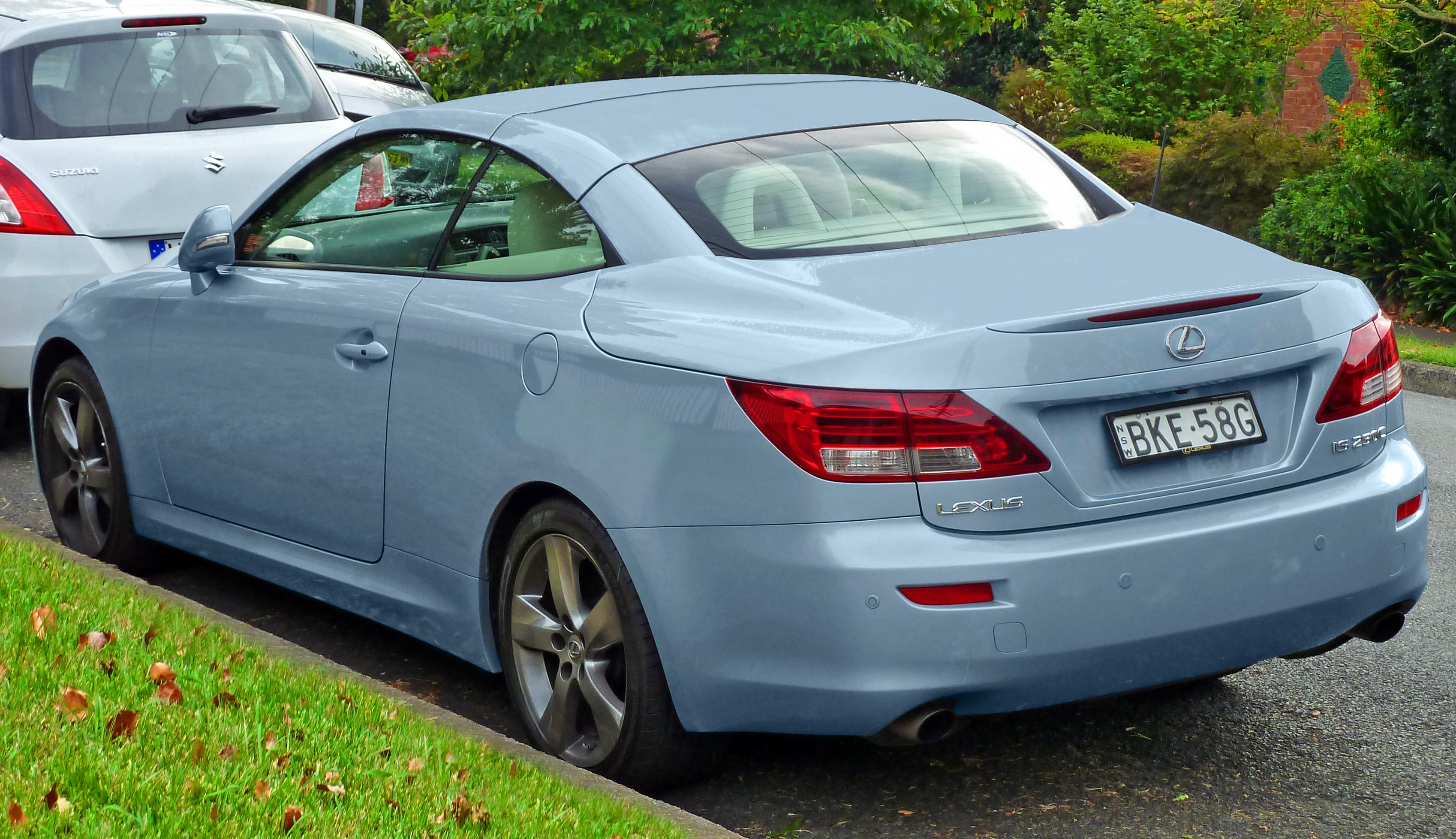 2011 lexus is 250 c 18 lexus is 250 c 18