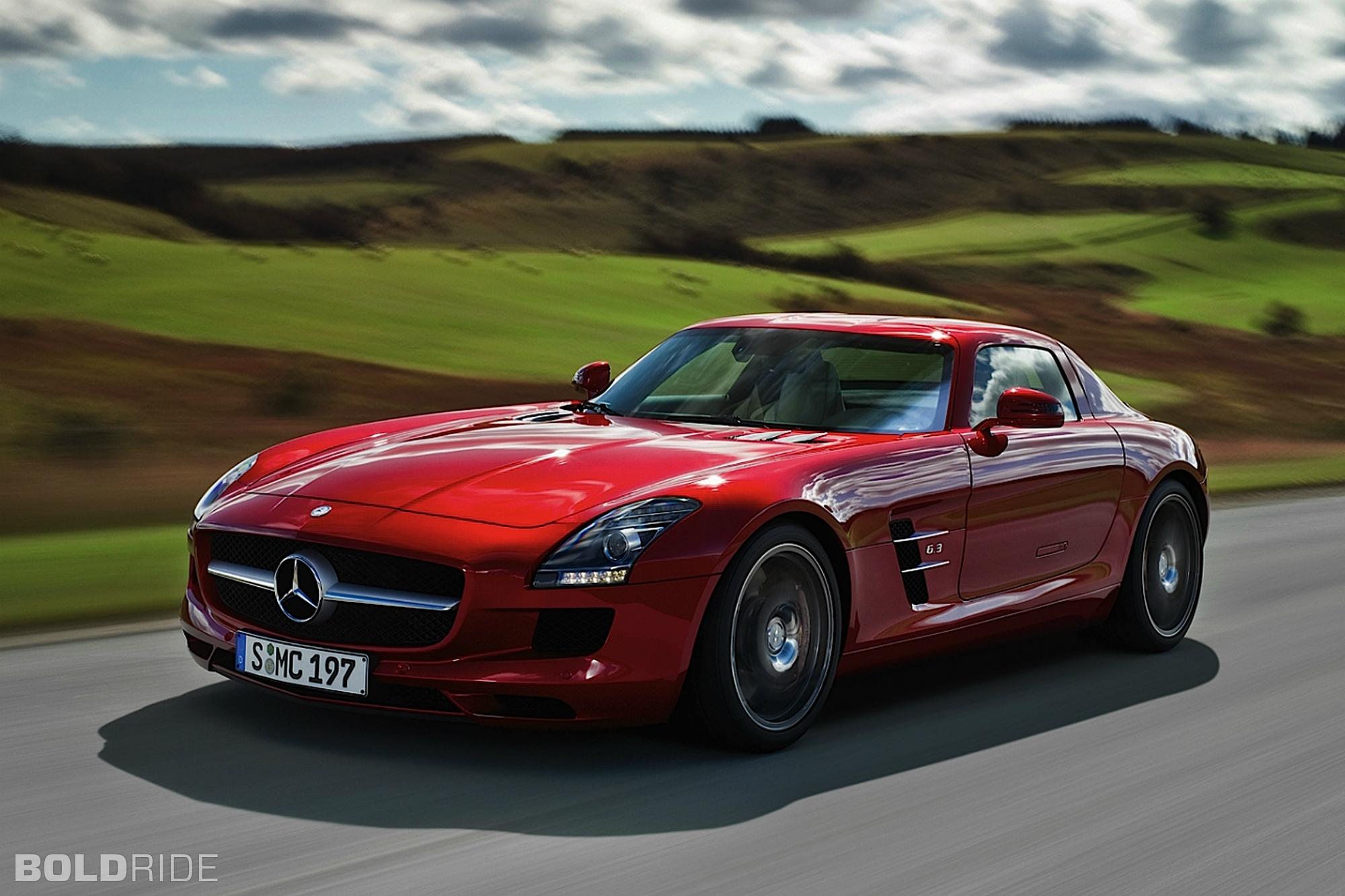 2011 Mercedes Benz Sls Amg Image 12