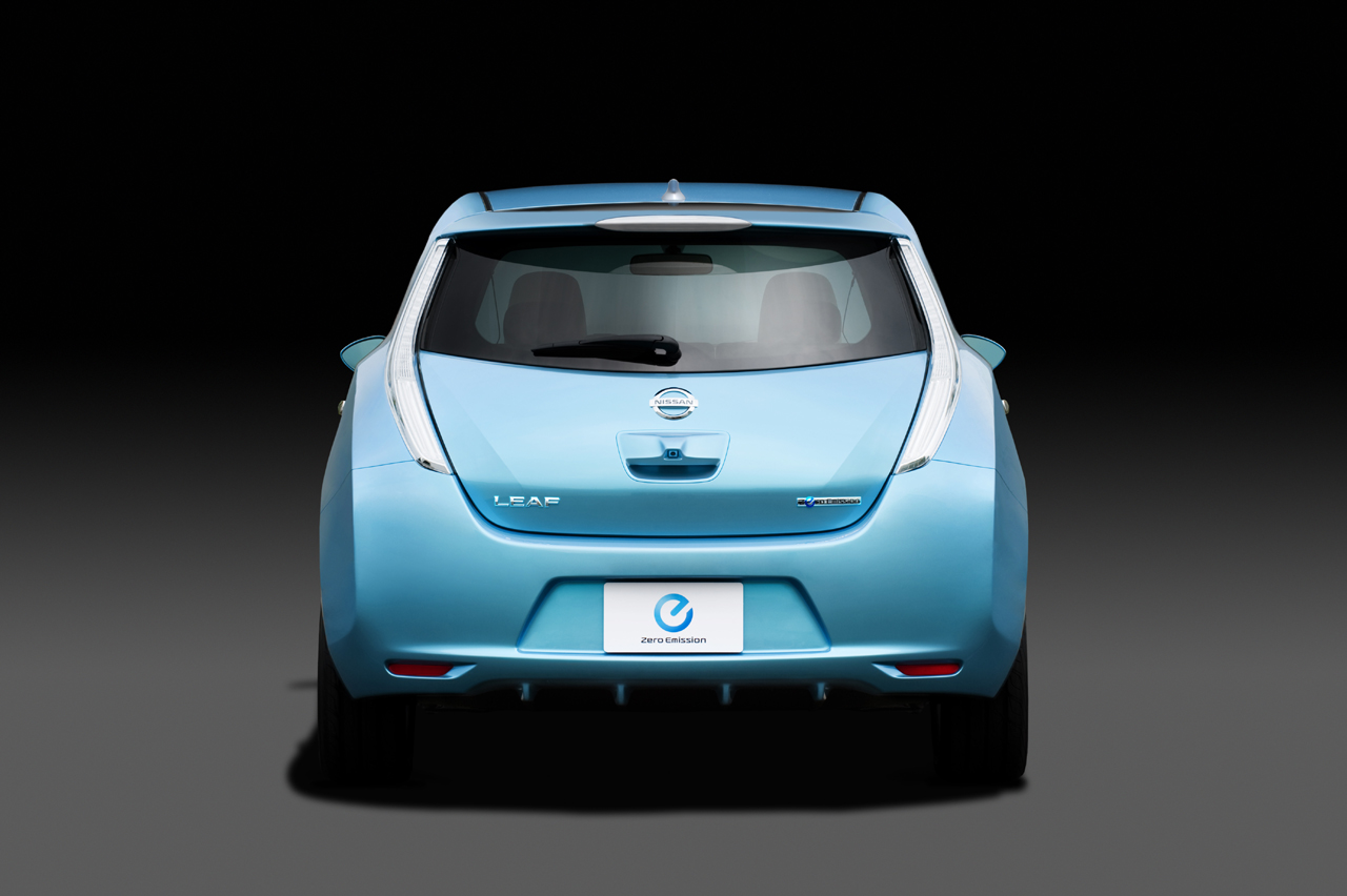 2011 nissan leaf information and photos zombiedrive 2011 nissan leaf 16 nissan leaf 16 vanachro Choice Image