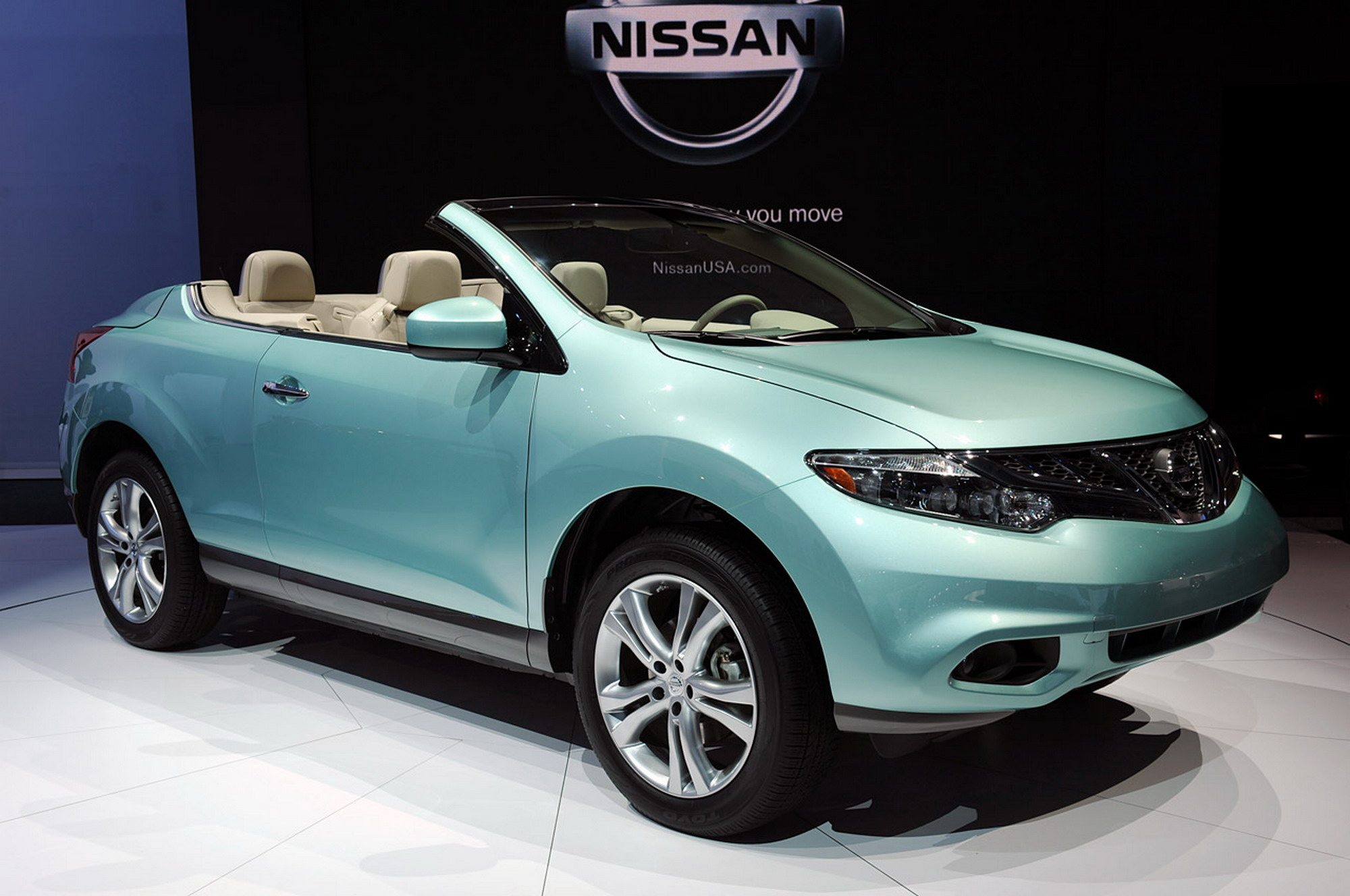 2011 nissan murano crosscabriolet - information and photos