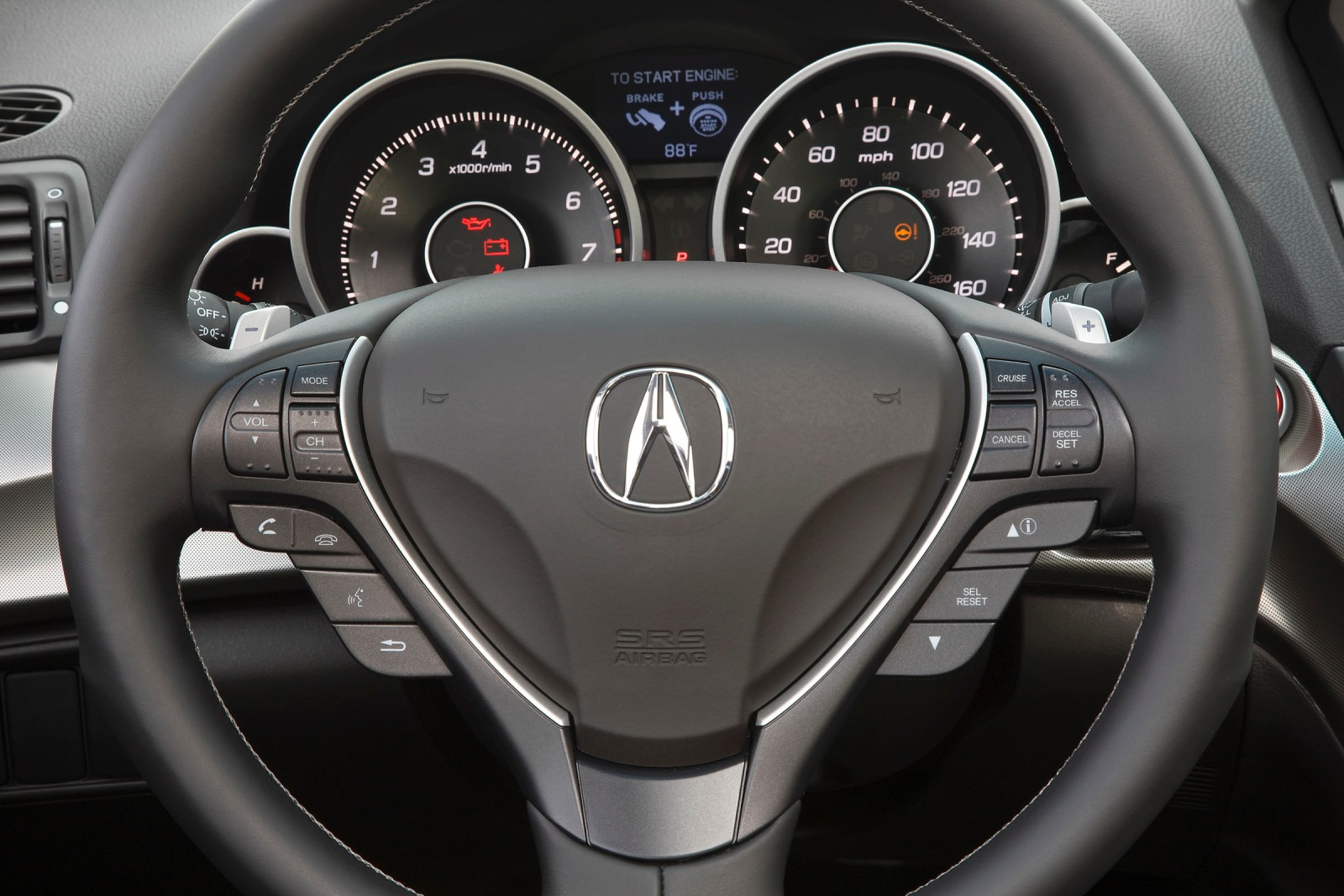 2011 Acura TL Sedan Cargo interior #9
