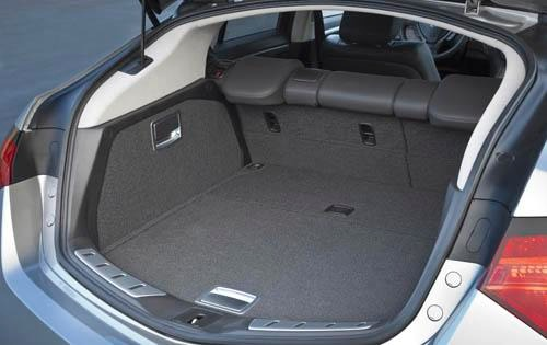 2011 Acura ZDX Center Con interior #8