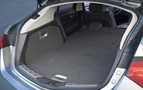 2011 Acura ZDX Center Con interior #9