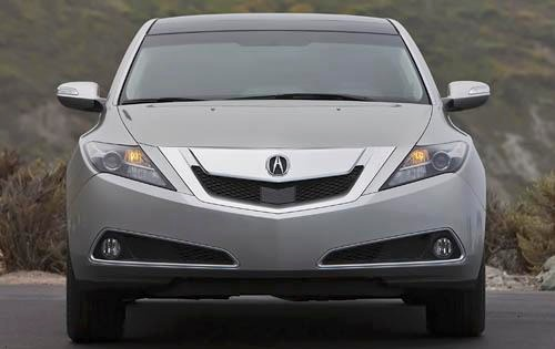 2011 Acura ZDX Center Con interior #5