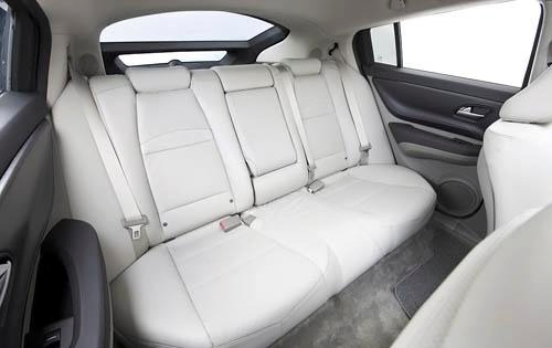 2011 Acura ZDX Center Con interior #7