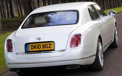 2011 Bentley Mulsanne 6.8 exterior #5
