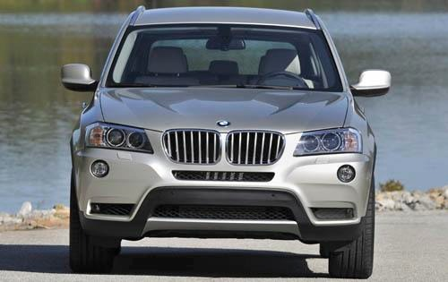 2011 BMW X3 Dashboard interior #8