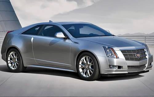 2011 Cadillac CTS Coupe P exterior #1