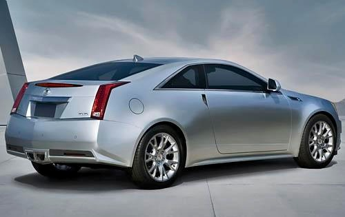 2011 Cadillac CTS Coupe P exterior #3
