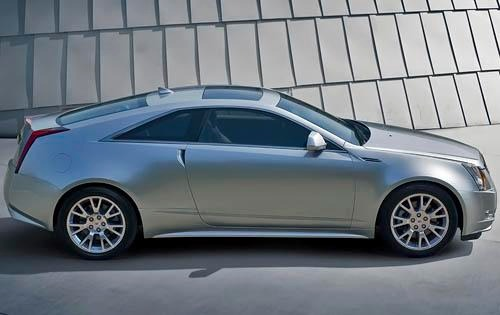 2011 Cadillac CTS Coupe P exterior #2