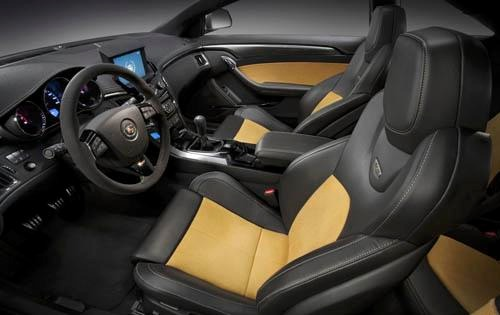 2011 Cadillac CTS-V Coupe interior #8