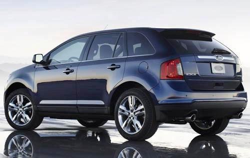 2011 Ford Edge Limited SU exterior #4