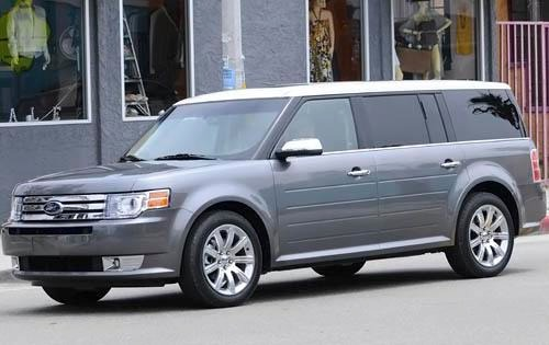 2011 Ford Flex Limited St exterior #2
