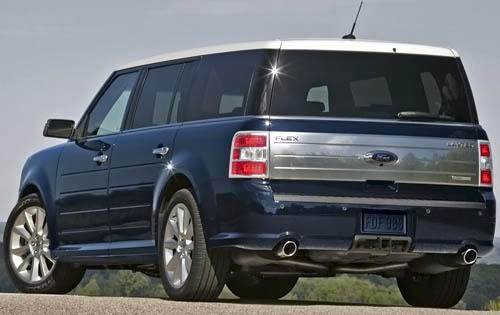 2011 Ford Flex Limited St exterior #7