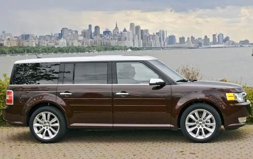 2011 Ford Flex Limited St exterior #5